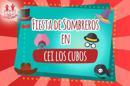 Fiesta de sombreros en CEI Los Cubos