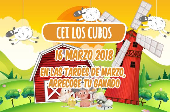 En las tardes de marzo,  arrecoge tu ganado en CEI Los Cubos