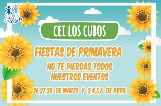 Fiestas de Primavera en CEI Los Cubos