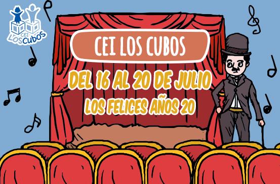 Los Felices años 20 en CEI Los Cubos