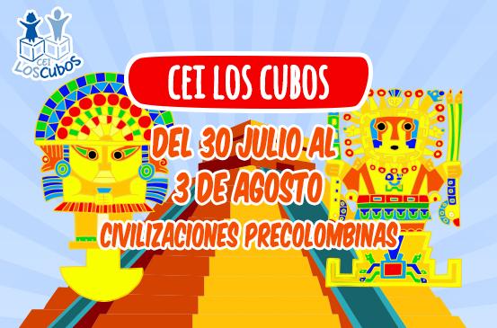 Civilizaciones precolombinas en CEI Los Cubos
